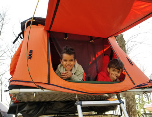 Opt Outside: Camping with kids